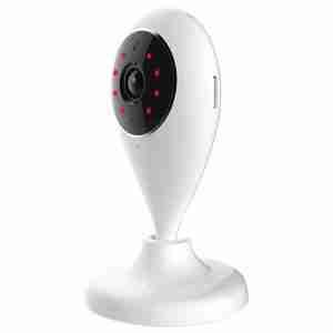 NEO WiFi IP Wireless Smart HD Dual Way Camera Work with Alexa Echo Google 0.5 Lux Mini Lighting 5g Lens 80 Degrees Visual Angle