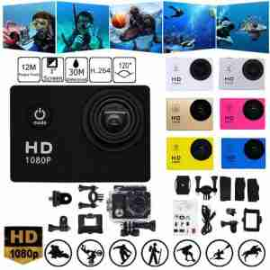 Action Camera Ultra HD 1080P WiFi 1.5 Inch Underwater Waterproof Helmet Video Recording Cameras Sport Camera